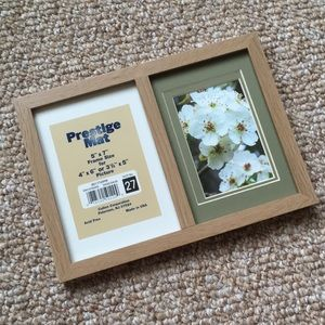 NWT! Double Picture Frame